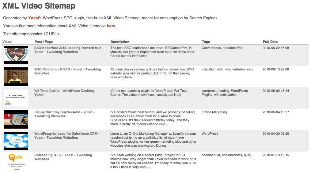 xsl stylesheets for xml sitemaps yoast