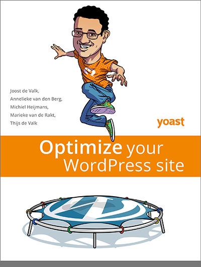 Cover of optimize your WordPress site
