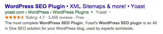 wordpress seo plugin rich snippet