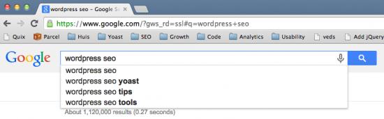 wordpress seo keyword suggestion