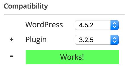 WordPress 4.5.2 compatible example