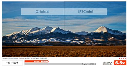 Image SEO: Optimize image file size using JPEGMini