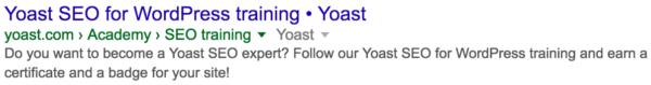 Get Yoast SEO for WordPress