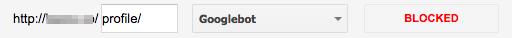 gwt robots txt url blocked