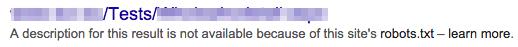 Robots.txt tester isn't flawless