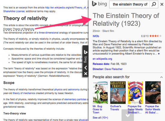 Bing Webmaster Tools: Knowledge Widget