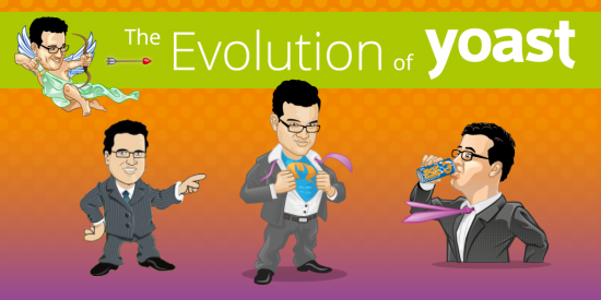 The evolution of Yoast avatars & we're doing a redesign!
