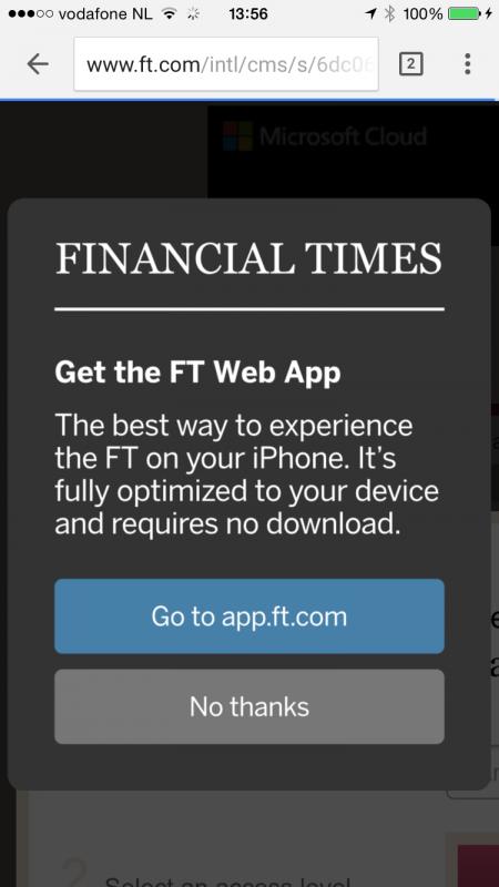 app.ft.com popup
