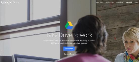 Google Drive - very clear