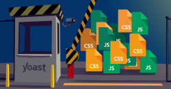 you should not block your CSS and JS files