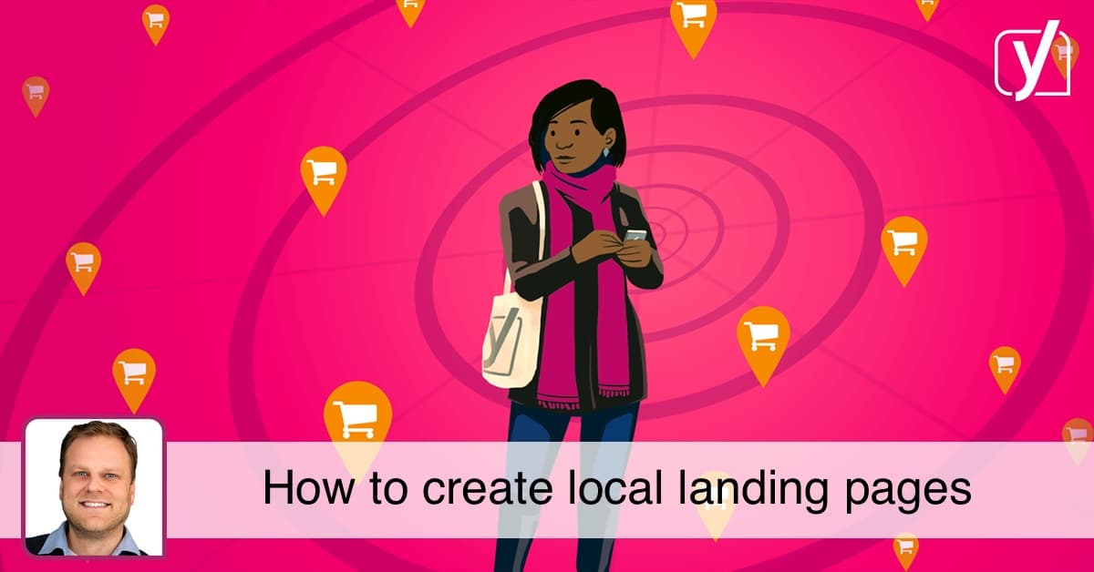 social local landing pages