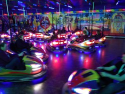 Bumper car action at PHPBenelux 2016
