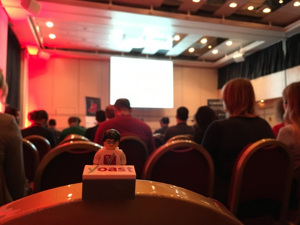 WordCamp Paris 2016: photo during one of the talks