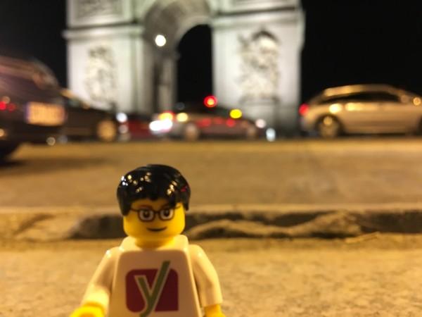 WordCamp Paris 2016: Yoast at Arc de Triomphe