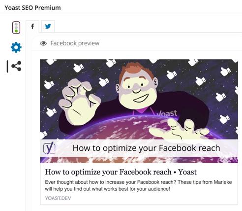 Social Previews in Yoast SEO Premium