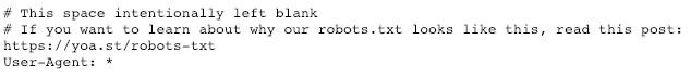 yoast.com robots.txt file