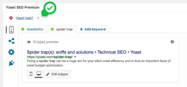 Yoast SEO help center