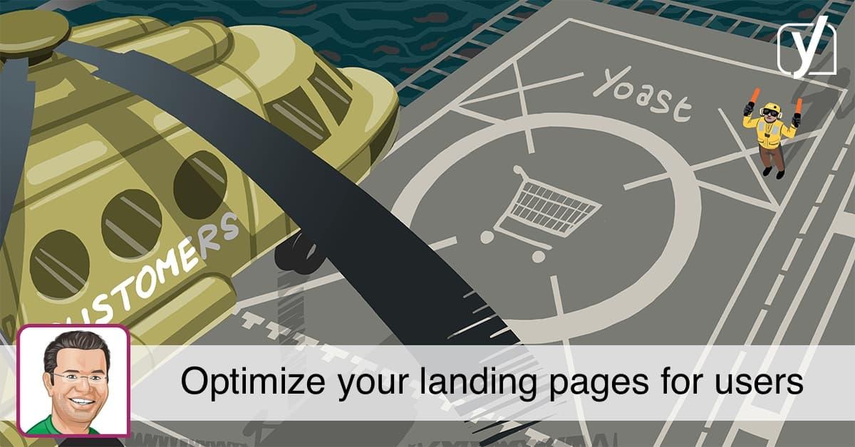social optimize landing pages