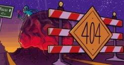Website maintenance: 404 error pages