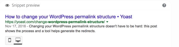 The perfect WordPress SEO permalink structure • Yoast