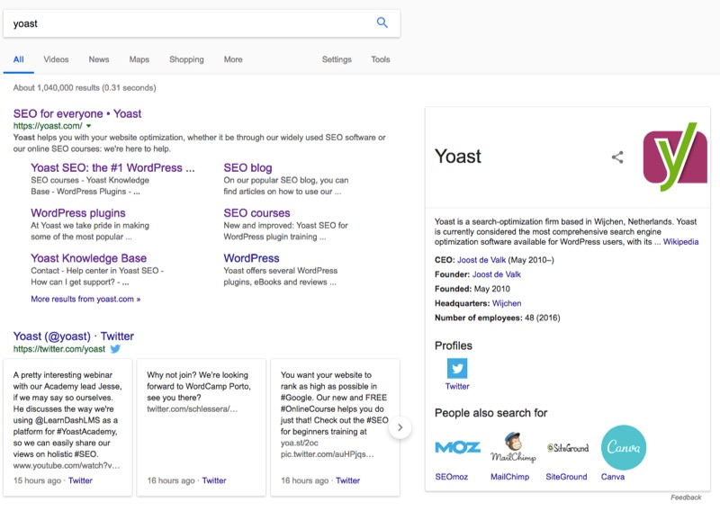 yoast knowledge graph us
