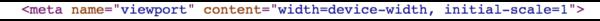 Metadata: viewport