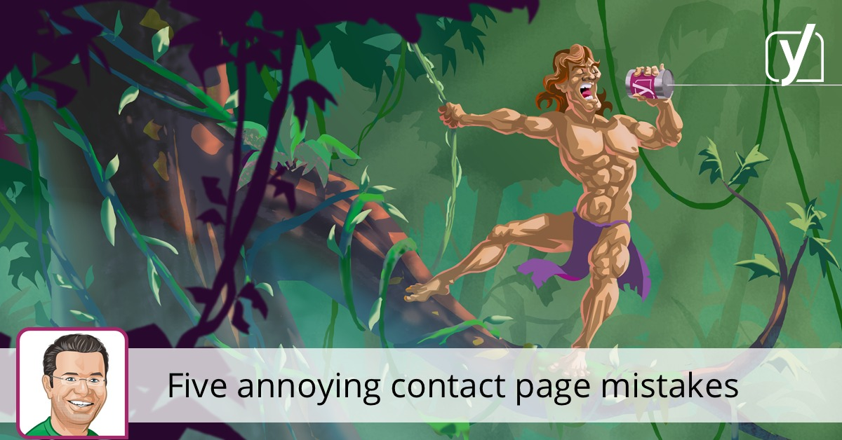 Five annoying contact page mistakes