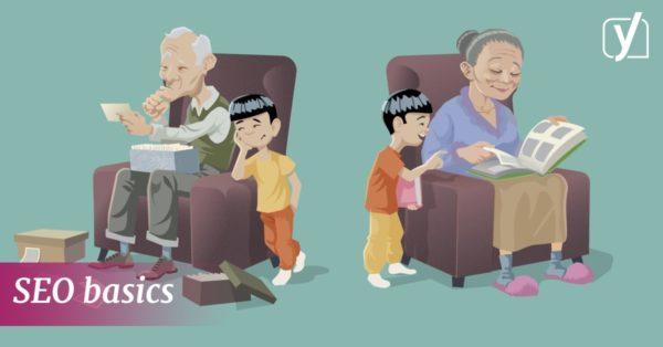 SEO basics: explaining SEO to grandparents