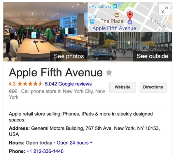 Apple NY Knowledge Graph