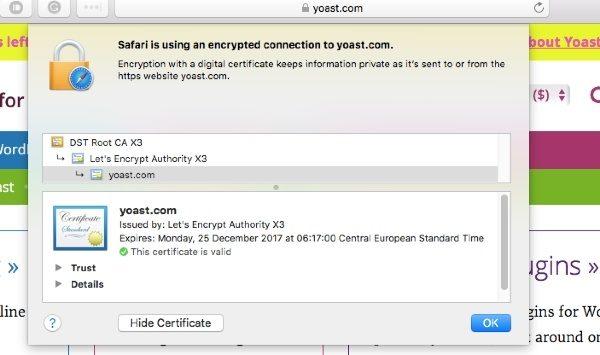 yoast ssl certificate