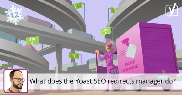 What does the Yoast SEO redirects manager do?