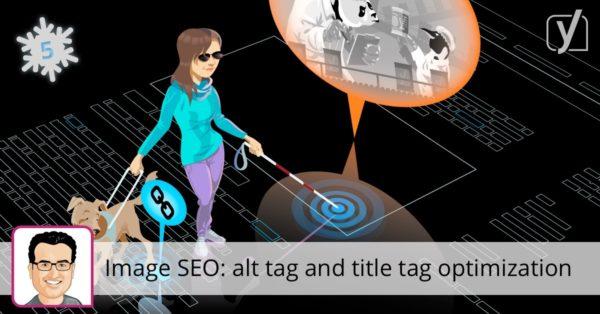 Image SEO: alt tag and title tag optimization