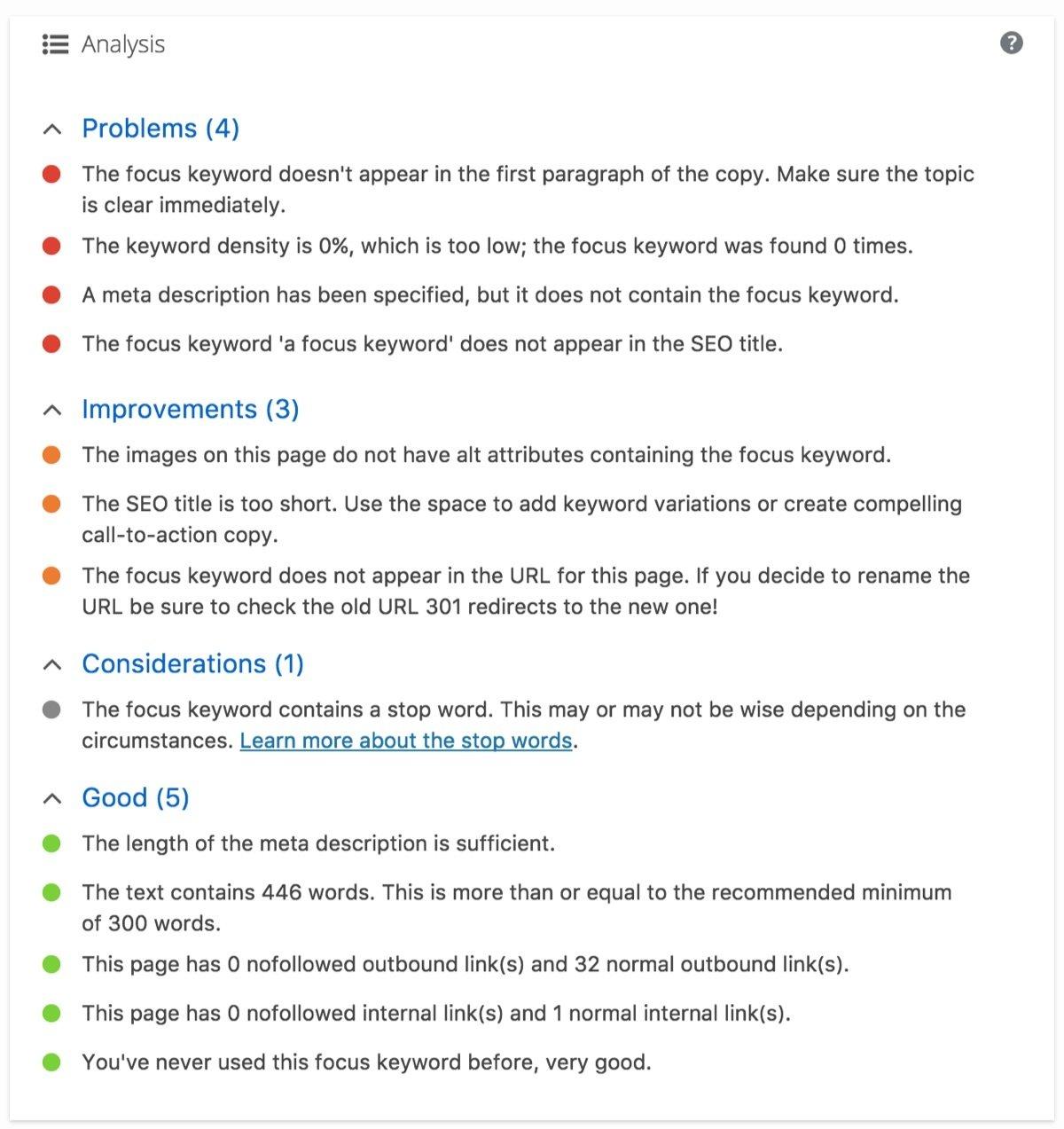 new content analysis yoast seo 5_9