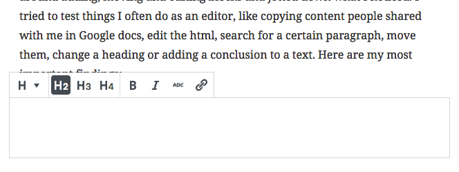 add heading in gutenberg