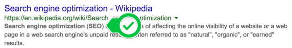 Keyword density: bold in Google