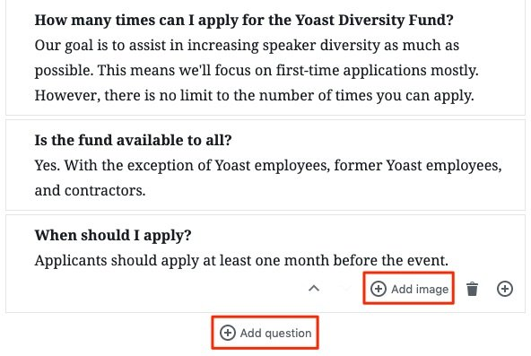 How to build a structured data-powered FAQ page using Yoast