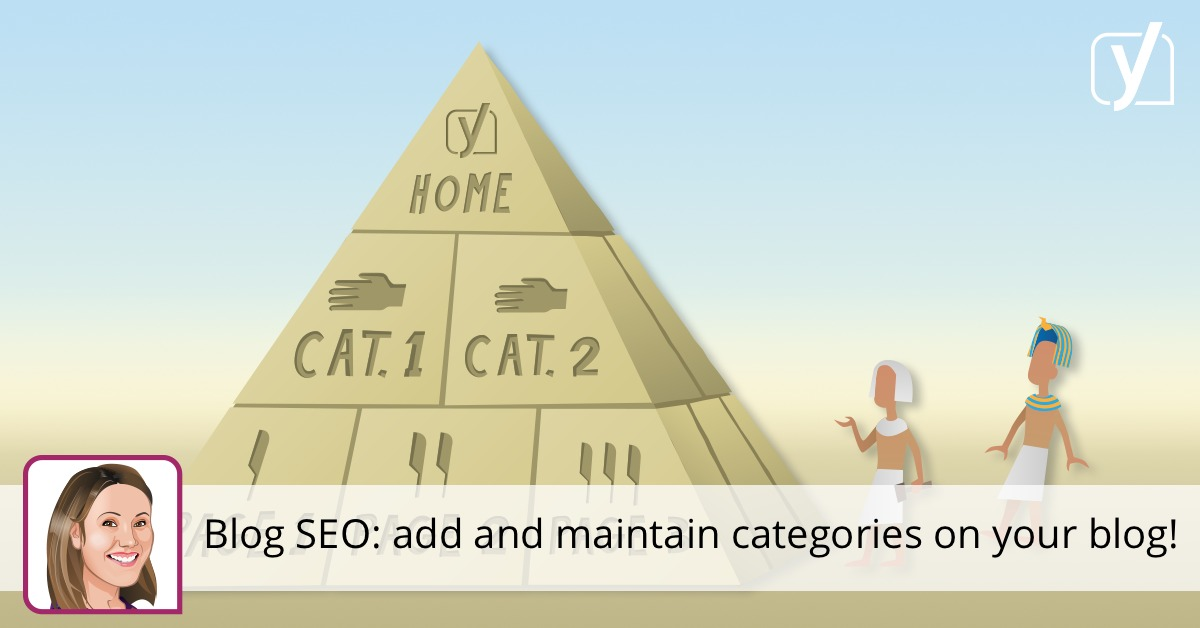 Blog SEO: add and maintain categories on your blog!