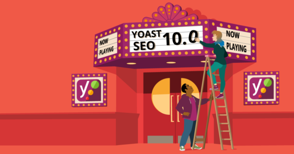 Yoast SEO 10.0 release illustration