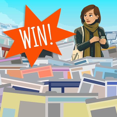 Win blogposts