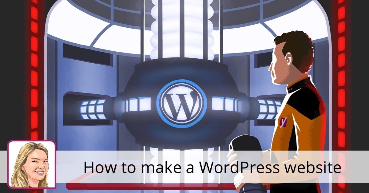 How to make a WordPress website • Yoast