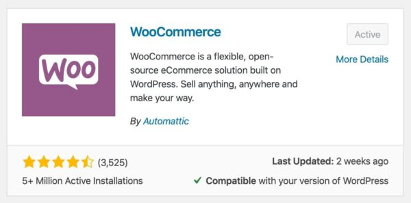 How to install the WooCommerce plugin in WordPress