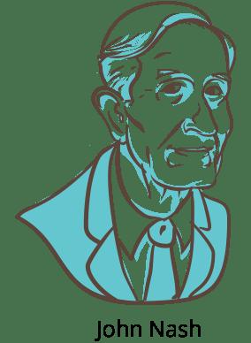 Illustration of John Nash