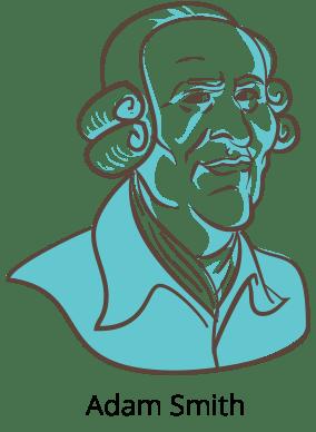 illustration of Adam Smith