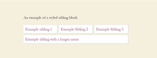 example styling siblings block yoast seo 14.5