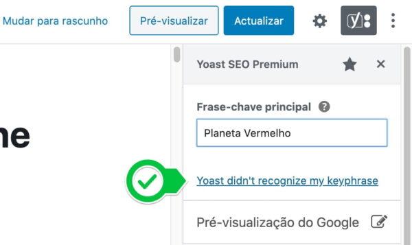 feedback option word forms yoast seo