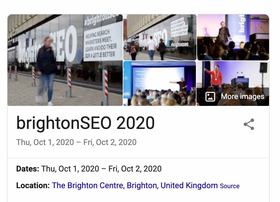 brighton seo 2020 event