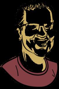 Illustration of Joost de Valk
