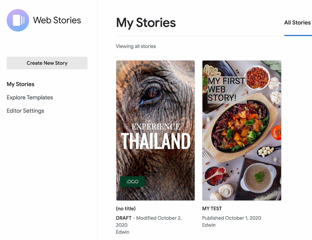 open web stories plugin