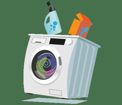 Illustration of Washing machines