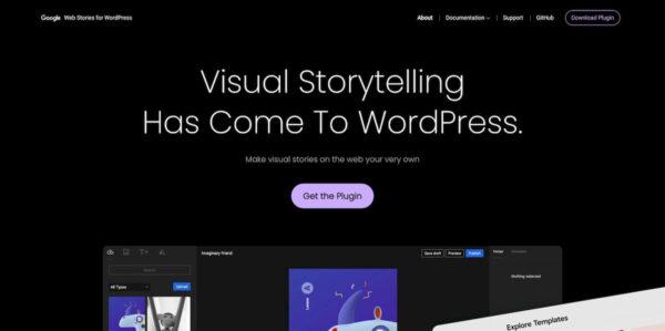 web stories wordpress google